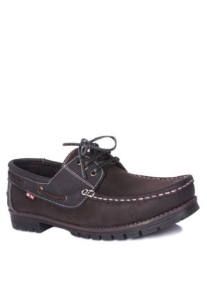 Se-Sa Erkek Kahve Siyah Kışlık Ayakkabı 737401 041 252