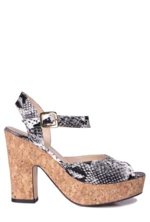Loggalin Kadın Siyah Platform Ayakkabı 520908 031 028