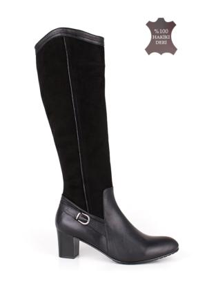 Romani Kadın Siyah Çizme 1127 022 025