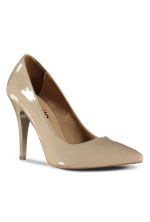 Marjin Siyso Topuklu Ayakkabı Ten Rugan
