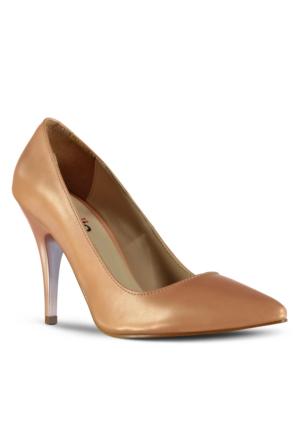Marjin Siyso Topuklu Ayakkabı Somon