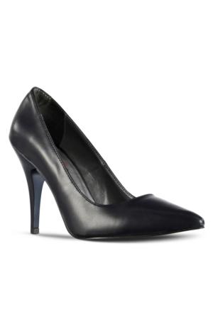 Marjin Siyso Topuklu Ayakkabı Lacivert