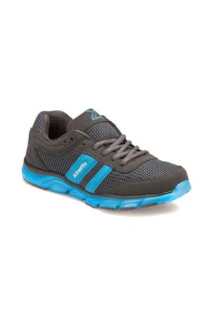 Kinetix A1280568 Koyu Gri Mavi Erkek Çocuk Koşu Ayakkabısı