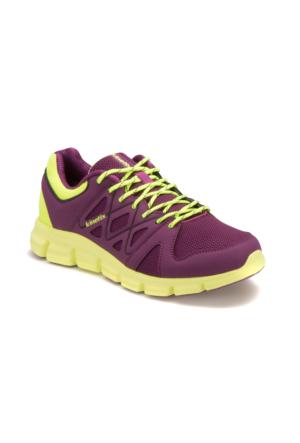 Kinetix A1282166 Mor Neon Yeşil Kadın Koşu Ayakkabısı