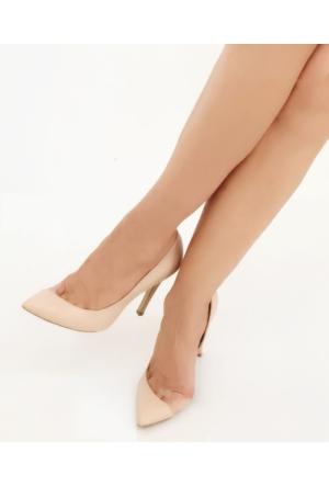 Mio Gusto , Ten Rengi Kadın Topuklu Ayakkabı