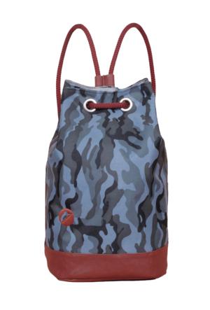 Mode49 Mavi Camo Salıncak Sırt çantası