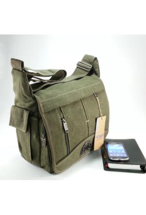 Moda Çanta Orta Boy Kanvas Postacı Çantası 6055