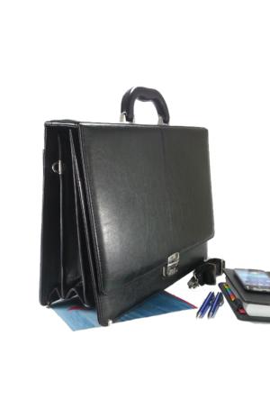 Pera Moda Profesyonel Siyah El Evrak Çantası, Notebook Çantası