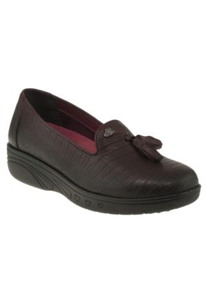 Venüs 6114 Mini Feta Bordo Kadın Ayakkabı