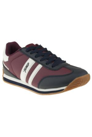 Jump 11848G Bağlı Bordo Unisex Spor Ayakkabı