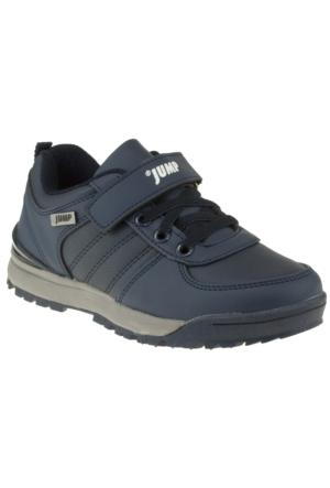 Jump 14002F Tek Cırt Lacivert Çocuk Spor Ayakkabı