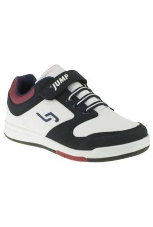 Jump 14120F Tek Cırt Beyaz Çocuk Spor Ayakkabı