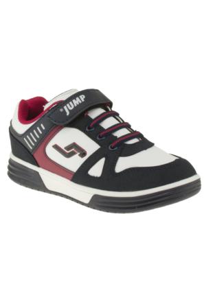 Jump 14142 Tek Cırt Beyaz Çocuk Ayakkabı