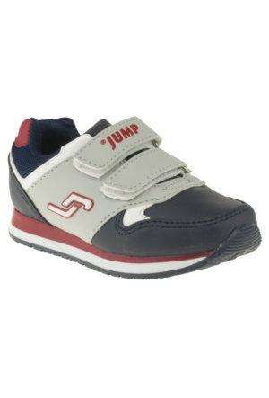 Jump 14707 Çift Cırt Gri Unisex Ayakkabı