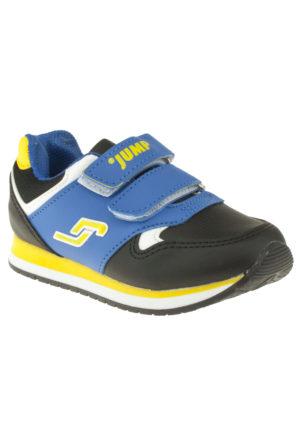 Jump 14707 Çift Cırt Mavi Unisex Ayakkabı