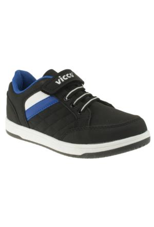 Vicco 938Z272 Tek Cırt Siyah Çocuk Spor Ayakkabı