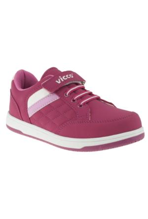 Vicco 938Z272 Tek Cırt Fuşya Çocuk Spor Ayakkabı