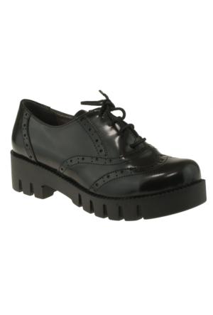 Vicco 970Y165 Bağlı Okul Siyah Çocuk Ayakkabı