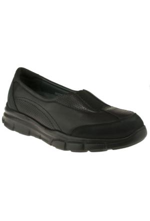 Forelli 35932 Comfort Siyah Kadın Ayakkabı