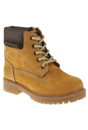 Dockers 219866 Bağlı Fermuarlı Sarı Çocuk Bot