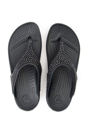 Crocs Siyah Terlik Sloane Diamante Flip P025471