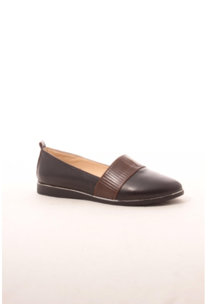 Gio&Mi Hs-Drbbt05 Siyah Kahverengi Ayakkabı