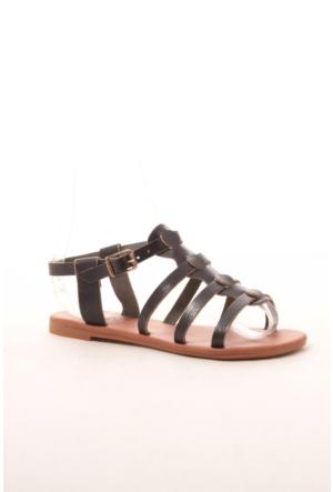 Gio&Mi Hs-28 Siyah Sandalet