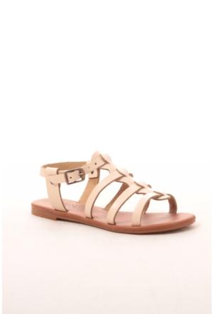 Gio&Mi Hs-28 Krem Sandalet