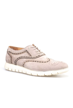 Cabani Extra Light Günlük Erkek Ayakkabı Bej Süet