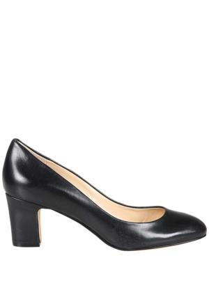 Enzo Angiolini Eadasmine Siyah Gerçek Deri Ayakkabı
