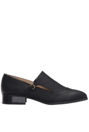 Nine West Nwnyessa Siyah Nubuk Ayakkabı