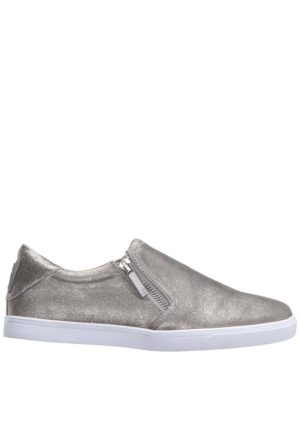 Nine West Nwbusybee Gümüş Gerçek Deri Ayakkabı