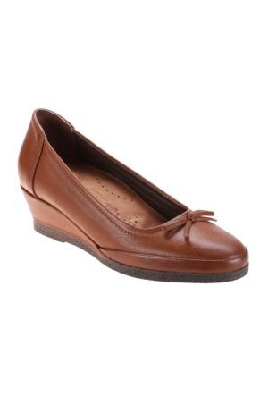 Polaris 5 Nokta 52.107767.Z Taba Kadın Deri Ayakkabı