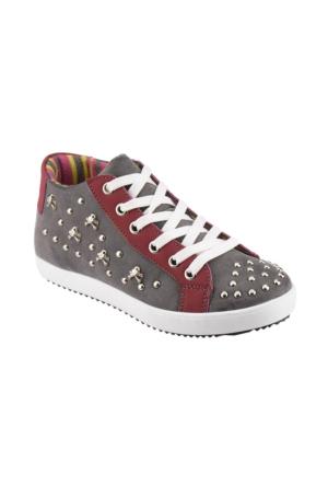 Polaris 52.505609.F Gri Kız Çocuk Ayakkabı