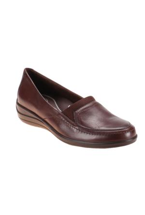 Polaris 5 Nokta 52.107504.Z Kahverengi Kadın Deri Ayakkabı