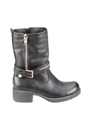 U.S. Polo Assn. A3325632 Siyah Kadın Çizme