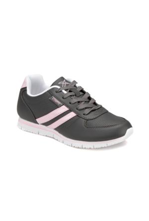 Kinetix 1275150 Koyu Gri Pembe Kadın Sneaker