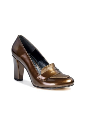 Desa Kadın Klasik Ayakkabı Bronz