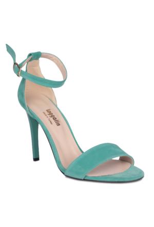 Loggalin 520003 031 672 Kadın Yeşil Sandalet