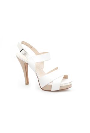 Pedro Camino Kadın Klasik Ayakkabı 81211 Beyaz