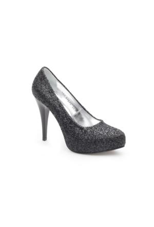 Pedro Camino Kadın Klasik Ayakkabı 81579 Siyah