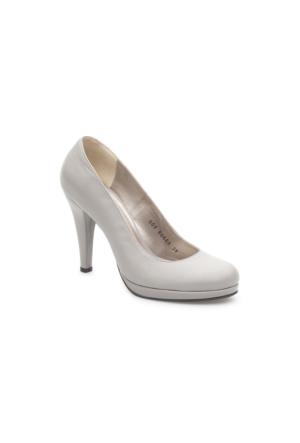 Pedro Camino Kadın Klasik Ayakkabı 81666 Gri