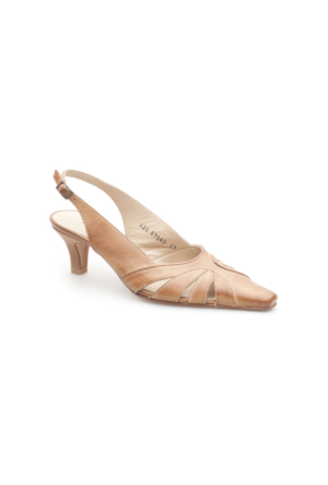 Pedro Camino Kadın Klasik Ayakkabı 87040 Bej