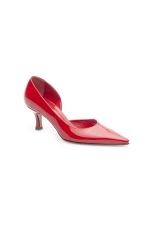 Pedro Camino Kadın Klasik Ayakkabı 89109 Kırmızı