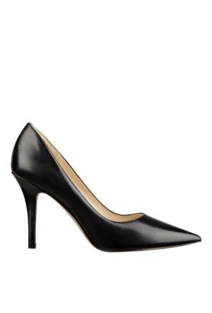 Nine West Nwjackpot Siyah Gerçek Deri Ayakkabı