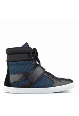 Nine West Nwbuhbye2 Siyah-Mavi Kumaş Ayakkabı