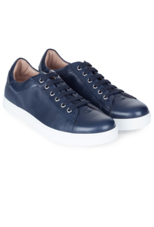 Gianvito Rossi Bağcıklı Deri Sneaker