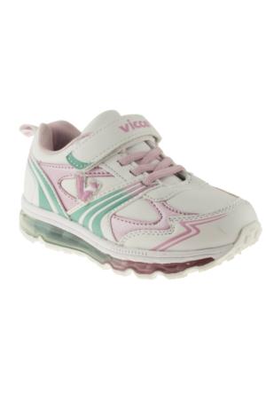 Vicco 347T084 Tek Cirt Beyaz Çocuk Spor Ayakkabı