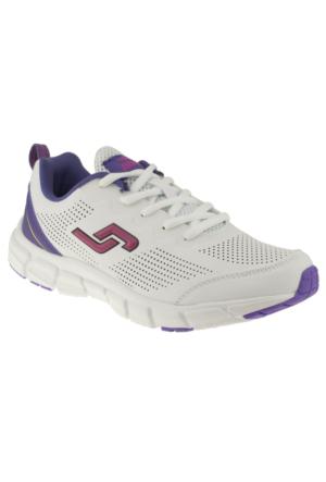 Jump 13811 Bağlı Beyaz Kadın Ayakkabı