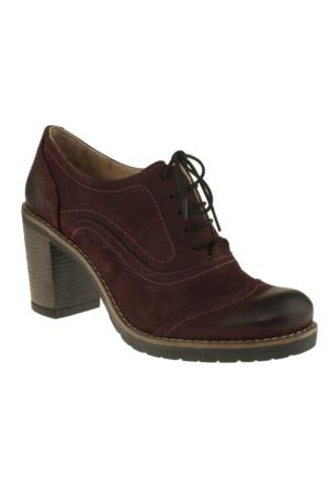 Greyder 5K2ca55035 Zn Casual Bordo Kadın Ayakkabı